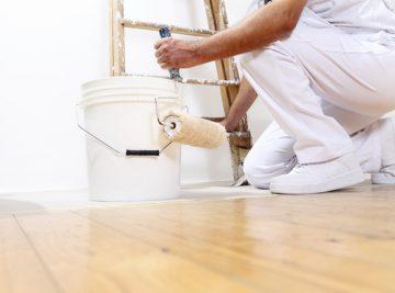Protection Tip'tape pour biens intérieurs pendant travaux.